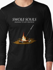 Swole Souls - Bonfire Long Sleeve T-Shirt