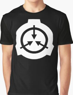 SCP Foundation Full Moon Graphic T-Shirt