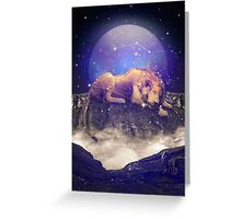 Under the Stars III (Leo Constellation) Greeting Card