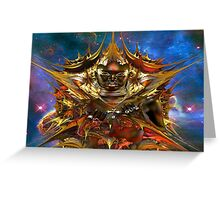 Golden Star Greeting Card