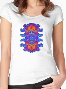 Abstract Reflections Women's Fitted Scoop T-Shirt