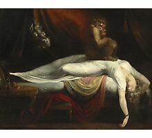 Vintage famous art - Henry Fuseli - The Nightmare 1781  Photographic Print