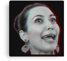 Kim Kardashian 3D Canvas Print