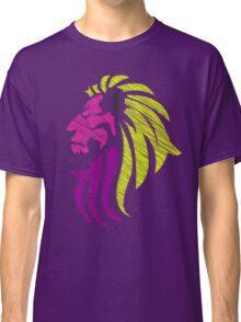 Neon Lion - Neon Colors Classic T-Shirt