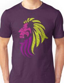 Neon Lion - Neon Colors T-Shirt
