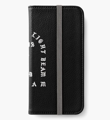 Ultralight Beam - Black and White iPhone Wallet/Case/Skin