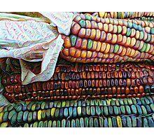 Dream Deeply Corn Photographic Print