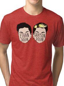 Dolan Twins (Ethan Dolan & Grayson Dolan) Tri-blend T-Shirt