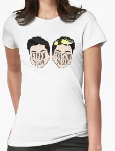Dolan Twins (Ethan Dolan & Grayson Dolan) Womens Fitted T-Shirt