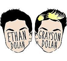 Dolan Twins (Ethan Dolan & Grayson Dolan) Photographic Print