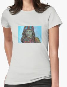 Demure Beauty Womens Fitted T-Shirt