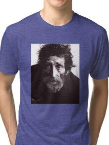 Homeless Man 4 Tri-blend T-Shirt