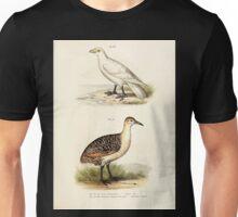 Bilder atlas zur Wissenschaftlich populären Naturgeschichte der Vögel in ihren sämmtlichen Hauptformen Leopold Joseph Fitzinger 1864 105 Unisex T-Shirt