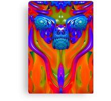 Lava Creature Canvas Print