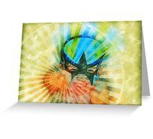 Super Girl Greeting Card
