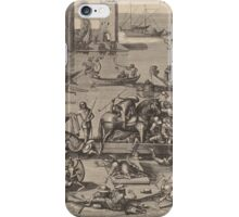 Hieronymus Bosch - Saint Martin With His Horse In A Ship 1605 iPhone Case/Skin