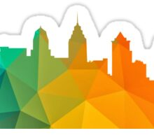 Philly Skyline- Colorful Sticker