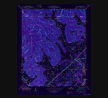 USGS TOPO Map Alabama AL Doran Cove 303697 1950 24000 Inverted Unisex T-Shirt