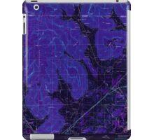 USGS TOPO Map Alabama AL Doran Cove 303697 1950 24000 Inverted iPad Case/Skin