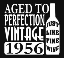 1956 Aged To Perfection One Piece - Short Sleeve