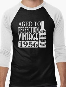 1956 Aged To Perfection Men's Baseball ¾ T-Shirt