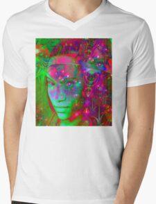 Fantasy Land Mens V-Neck T-Shirt