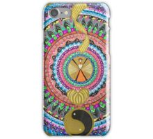 Personality layers iPhone Case/Skin
