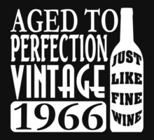 1966 Aged To Perfection Baby Tee