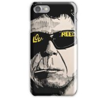 Lou Reed iPhone Case/Skin