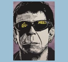 Lou Reed One Piece - Short Sleeve