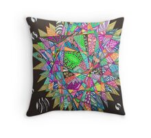 Perfect Chaos Throw Pillow