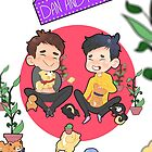 DNP shiba poster by moaninghowell