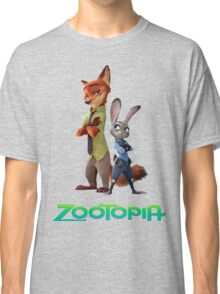 nick wilde and judy hopps Classic T-Shirt