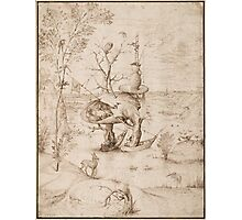 Hieronymus Bosch - The Tree-Man 1505 Photographic Print