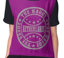 The Hague Chiffon Top