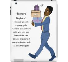 Imaginary Boyfriends: Billionaire Boyfriend iPad Case/Skin