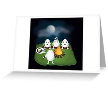 Eggs horror story Greeting Card