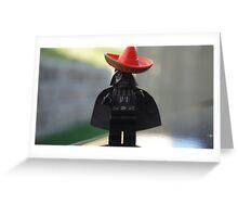 Sombrero Vader Greeting Card