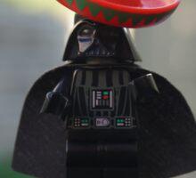 Sombrero Vader Sticker