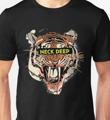 Neck Deep - Tiger Unisex T-Shirt