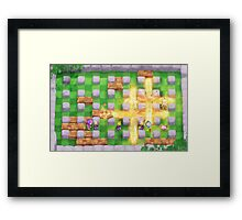 Explosive Climax Framed Print