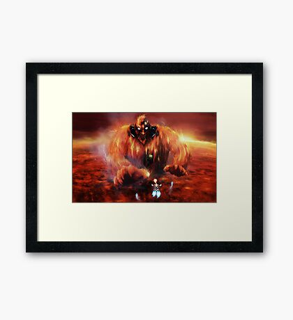 Warm Encounter Framed Print