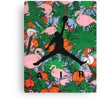 Air Jordan - Paradise Canvas Print