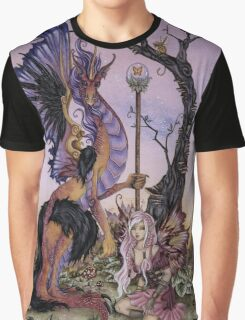 Gathering At Dawn Graphic T-Shirt