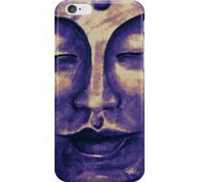 Purple Buddha face iPhone Case/Skin