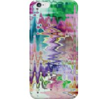 Garden flower oil painting  iPhone Case/Skin