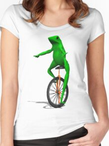 dat boi Women's Fitted Scoop T-Shirt