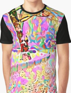 Color My World Happy Graphic T-Shirt