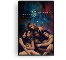 FIFTH HARMONY 7/27 GALAXY COVER Canvas Print