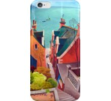 Sea houses. Gardenstown. iPhone Case/Skin